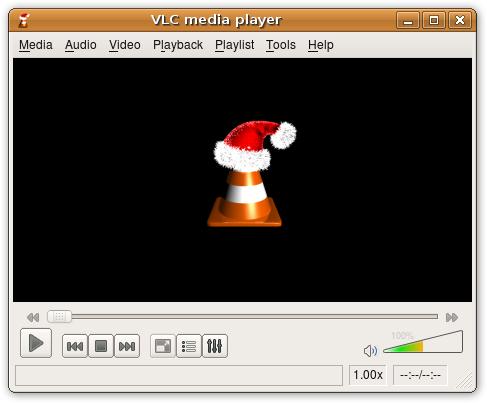 VLC Santa Icon