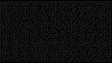 ASCII labirintus generátor