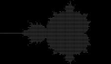 Mandelbrot halmaz kirajzoló script