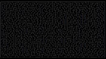 ASCII maze