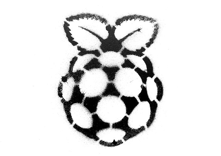 Raspberry Pi stencil