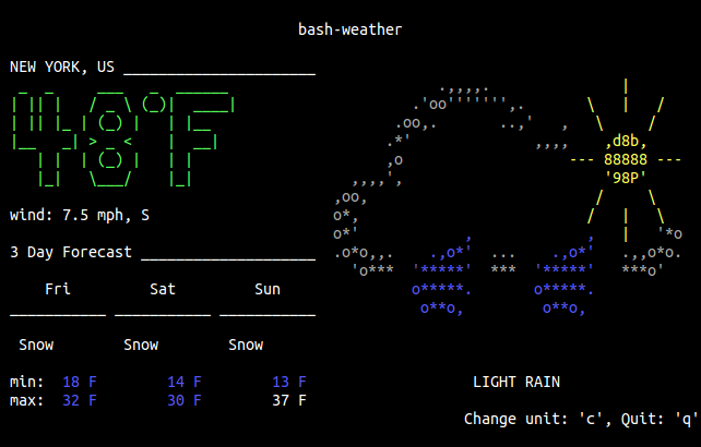 bash-weather
